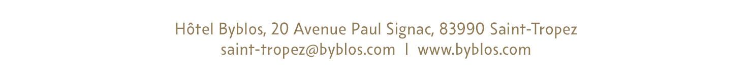 Byblos 20 avenue paul signac, 93990 saint-tropez